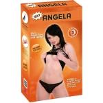 Siyah saçlı bebek Angela