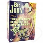 Big John Male Doll şişme Erkek