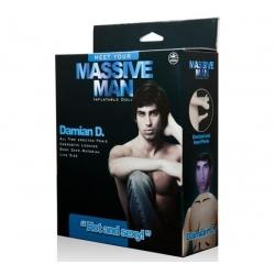 Massive Man Erkek Şişme Bebek - Damian D.