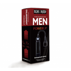 Penis Geliştirici Pompa Basınç Göstergeli