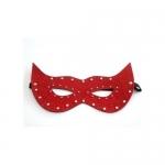 Deri Fantazi Maskeri(Beyaz/Siyah/Kırmızı)