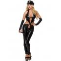 Deri Erotik Polis Kostümü