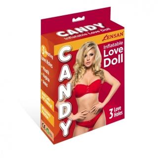 Candy Love Doll 3 İşlevli Şişme Manken
